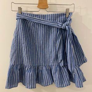 Tularosa stripe skirt